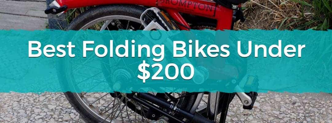 Best Folding Bikes Under $200 Featured Image
