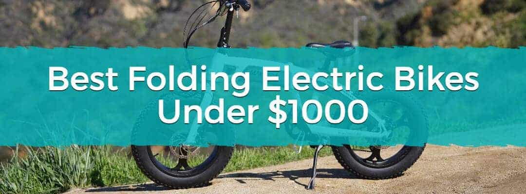 Best Folding Electric Bikes Under $1000 Featured Image